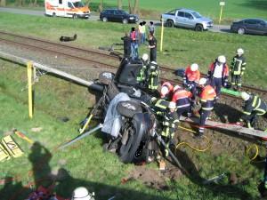 B_Vechta Verkehrsunfall mit Zug Bild KPW 04-14