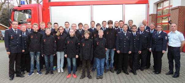 10.04.2015 – 25 Jahre Jugendfeuerwehr Osterfeine