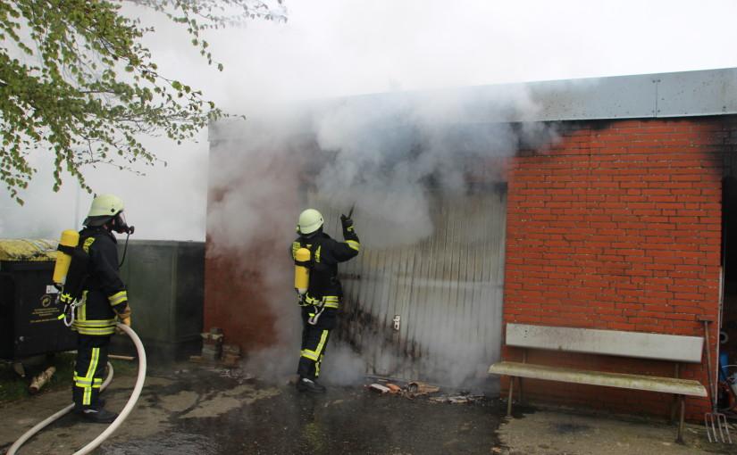 25.04.2015 – Gebäudebrand am St. Michel Stift