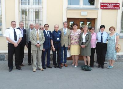 13.06.2015 – Landkreisjugendfeuerwehr besucht Partnerstadt in Polen