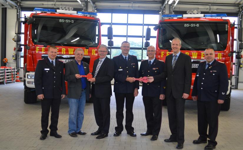 17.06.2015 – Neue Rüstwagen für die Feuerwehren Ahlhorn und Altmoorhausen
