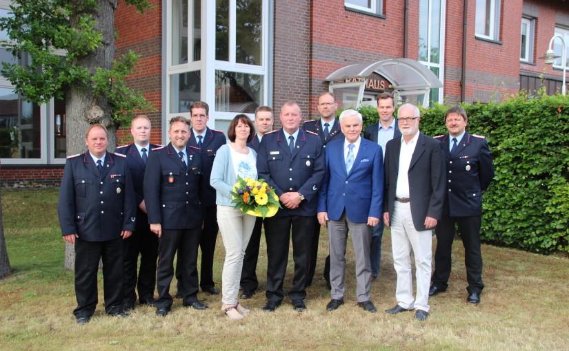 25.06.2015 – Rolf Tebben zum Gemeindebrandmeister ernannt