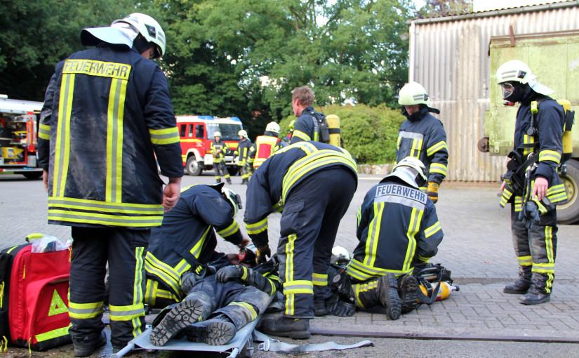 08.07.2015 – Gemeindeübung der Feuerwehr an der Dötlinger Mühle