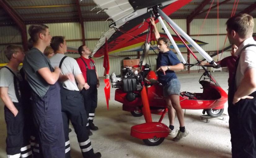 17.07.2015 – Rettungssysteme bei Ultraleicht Fluggeräten vorgestellt