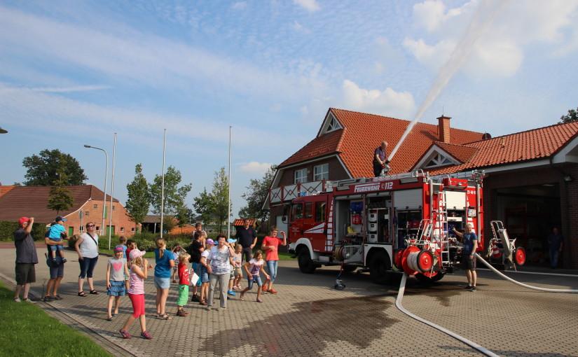 21.08.2015 – Ferienpassaktion bei der Feuerwehr Ramsloh