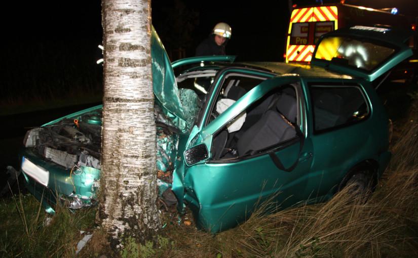 16.09.2015 – Verkehrsunfall mit eingeklemmter Person