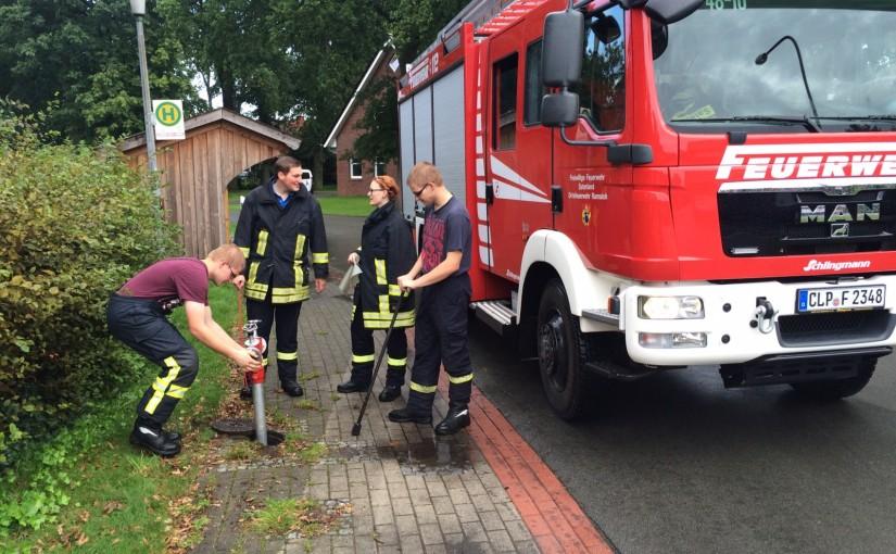 19.09.2015 – Hydrantenpflege in Ramsloh und Strücklingen