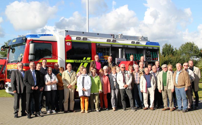 26.09.2015 – Kreisfeuerwehrverband trifft sich in Dötlingen
