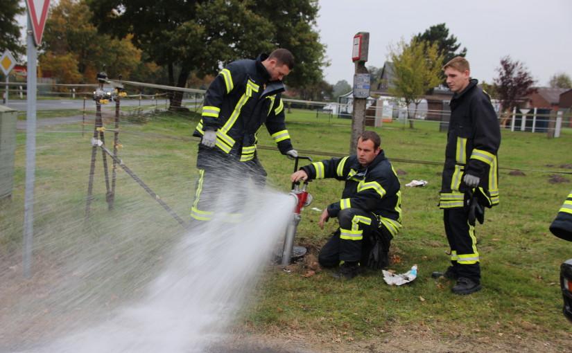 24.10.2015 – Hydrantenpflege in Scharrel und Sedelsberg