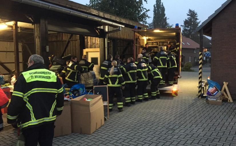 16.10.2015 – Gleich vier Einsätze für die Feuerwehr