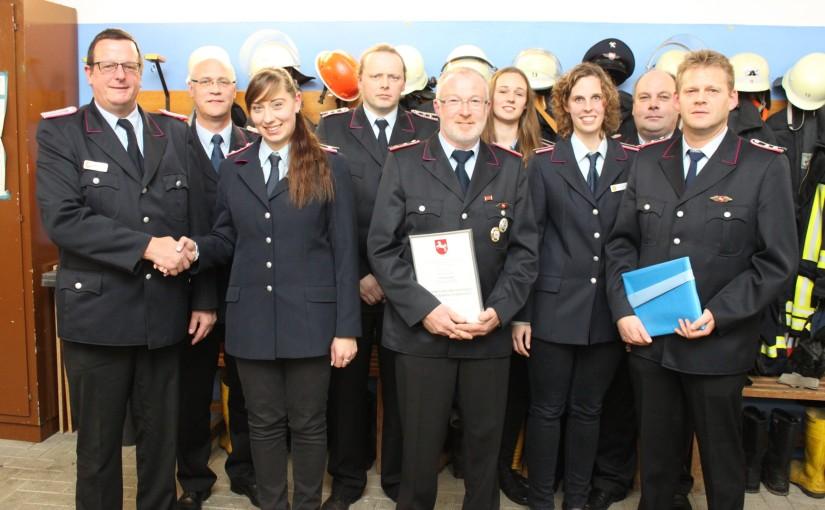 20.11.2015 – Einsatzreiches Jahr für die Feuerwehr Klein Henstedt