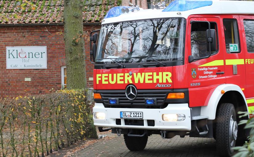 14.11.2015 – Schornsteinbrand auf dem Kläner Hof