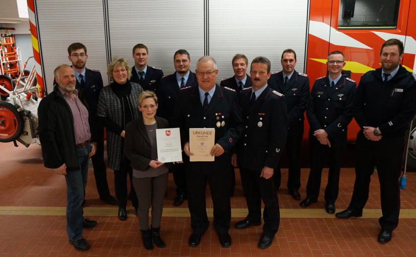 08.01.2016 – Jahreshauptversammlung der Ortsfeuerwehr Neerstedt