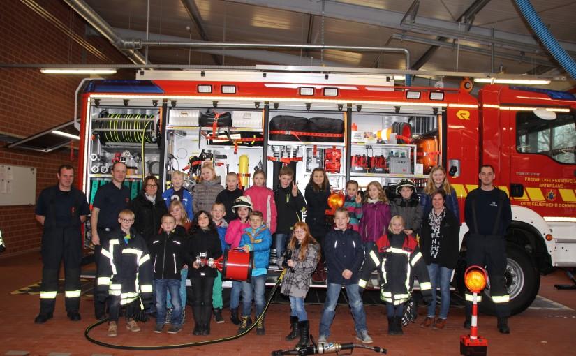 16.12.2015 – Brandschutzerziehung in der Grundschule Sedelsberg