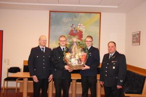 Feuerwehrmänner des Jahres