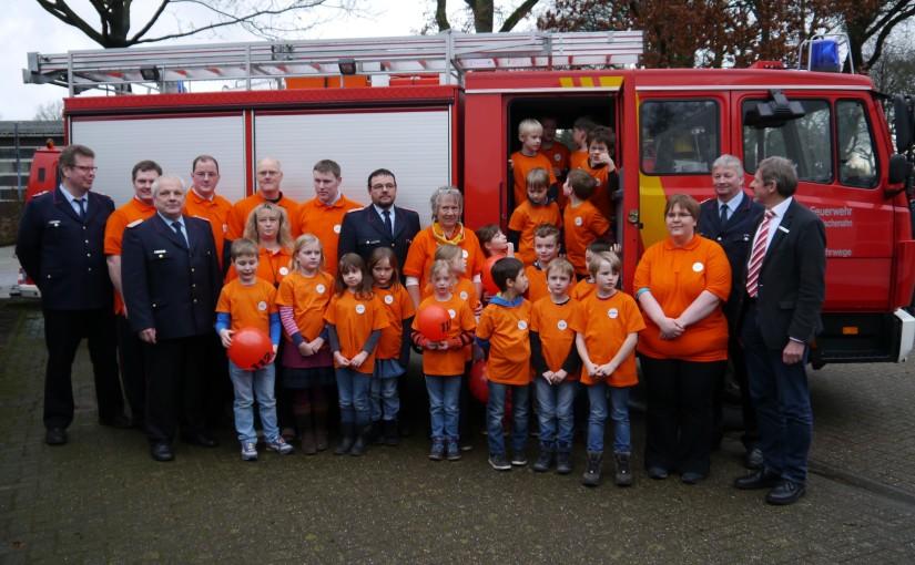 30.01.2016 – Kinderfeuerwehr in Ohrwege gegründet