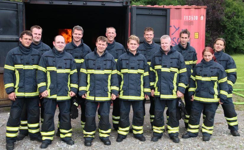 06.08.2016 – Atemschutzgeräteträger trainierten im Übungscontainer