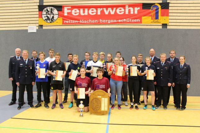 Die Sieger und Gäste auf der Winterveranstaltung 2017 in Lutten / Bild: Lindemann